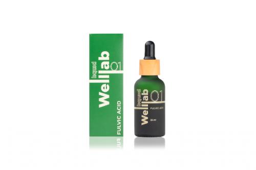 WellLab (Природный сорбент, восстанавливающий гель, фульвовые кислоты, Омега)